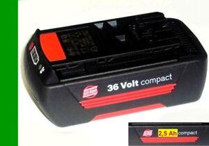 Bosch Akku 36 V compact m. 2,5 Ah Samsung Zellen 36 Volt