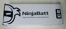 NINJABATT HIGH PERFORMANCE LAPTOP BATTERIES FOR DELL INSPIRON N5110 unsealed nib