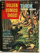 TUROK, SON OF STONE (1973) Golden Comics Digest #31 VG+
