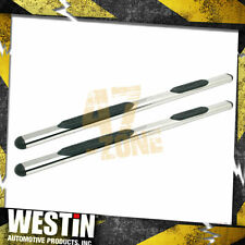 For 2006-2007 Saturn Vue Premier 4 Oval Nerf Step Bars Cab Length