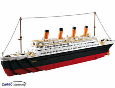Titanic Ship Building Block Set 1021 Pc Model Boat 3D Gift Kids Toy Collectible