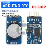 DS3231 AT24C32 IIC Precision Real Time Clock RTC Memory Module for Arduino USA