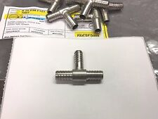 Stainless Fitting Tee 3/8 Barb