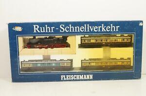 H0--FLEISCHMANN - 4887 (DC) ..DRG Zug-Set Ruhr-Schnellverkehr  ..OVP  ..G3 /63