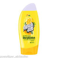 (17,80€/L) 250ml Duschdas Ich fühle mich ÜBERGLÜCKLICH Duschgel Zitrone