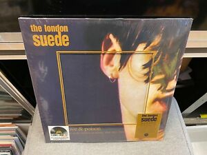 The London Suede Love and Poison 180 gram CLEAR colored wax RSD 2021 SEALED NEW