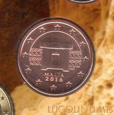 Malte - 2016 - 5 Centimes d'euro Poincon F - FDC Provenant BU - Malta