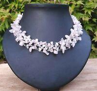 *Freedom Tree*  Stunning Hand Made Aubergine Choker Necklace