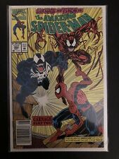 Amazing Spider-Man #362 Newsstand 2nd Appearance Of Carnage Venom Marvel Comics
