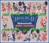 Britains Herald Model Soldiers 1954 Poster Advert Leaflet Shop Display Sign