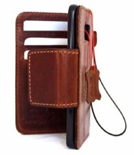 Genuine oil leather Case for Samsung Galaxy S7 Edge book wallet cover magnetic