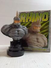 Bowen RHINO Mini BUST ARTIST PROOF / nn Marvel AWESOME HTF Spider-man Villian