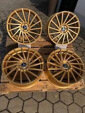 18 Zoll Ultra Wheels UA9 Alu Felgen 8x18 et35 5x112 Gold VW Audi Seat Skoda MB