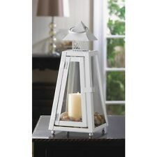 White Lighthouse  Lantern Candle Holder Wedding Centerpiece