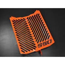 KTM 990 Supermoto SM-T / SM-R Kühlerabdeckung Wasserkühler Logo orange