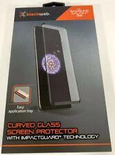 Blackweb Curved Glass Screen Protector Samsung Galaxy S9+ S9Plus Error-Free NEW