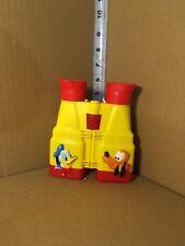Vintage Plastic ILLCO Walt DISNEY Company MICKEY MOUSE, PLUTO Toy Binoculars!