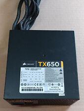 Corsair TX650 CMPSU-650TXV2 650W Watt Power Supply for Desktop PC