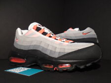 2011 NIKE AIR MAX 95 WHITE SOLAR RED COOL GREY BLACK PINK 609048-106 NEW 1 12