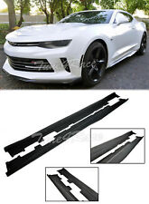 For 16-Up Camaro SS RS ZL1 Style ABS Side Skirts Panels Extension Body Kit