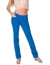 American Apparel Corduroy Slim Slack Jean Blueberry Bright Blue Size 25 X 31