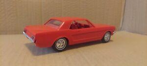 1966 Ford Mustang dealer promo car w/o box Original Red great display item shiny