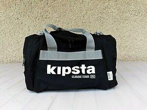 Sac De Sport Kipsta Classic Team 20L à Bandouliere Vintage Athletisme Noir Petit