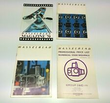 HASSELBLAD CATALOGUE / BROCHURE PACK 7  - PHOTOGRAPHY COLLECTORS