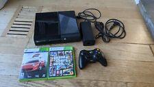 Microsoft Xbox 360 E 250Gb Game Console - Black + 2 Games