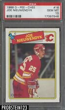 1988 O-Pee-Chee OPC Hockey #16 Joe Nieuwendyk Calgary Flames PSA 10 GEM MINT