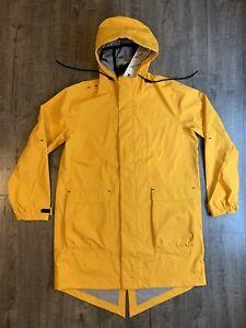 Nike NikeLab Essentials Parka Yellow Men's Large L Rain Jacket CD6807-739 $400