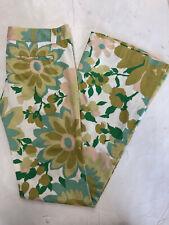 NWT WOMEN'S FRANKIE B light weight 100% cotton flower Hippie style pants SZ: 2&4