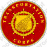 STICKER U S ARMY BRANCH Transportation Corps B NEW