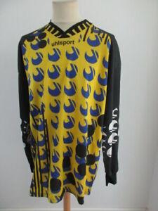 Maillot de football vintage 90's gardien de but N°1 Uhlsport Taille XL