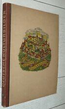ALBUM CHROMOS DEUTSCHE KULTURBILDER 1934 HAMBURG HISTOIRE 1400-1900 COMPLET