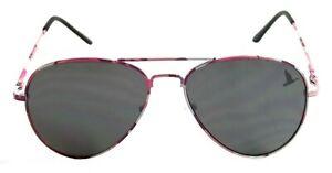 NWT Retro Classic Aviator Sunglasses Dynasty Pilot Spring Hinge Metal Frame