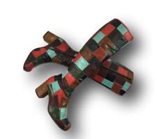 Rare 60s 70s GRANNY TAKES A TRIP London England Patchwork Psychedelic Boots