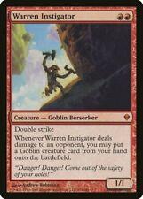 Warren Instigator Zendikar PLD Red Mythic Rare MAGIC GATHERING CARD ABUGames