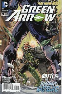 Green Arrow #9 DC Comics