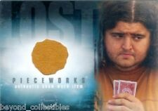 ABC LOST - SEASON 2 PIECEWORKS CARD 2007 - HUGO HURLEY'S SHIRT- JORGE GARCIA PW5