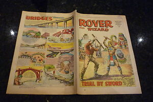 THE ROVER & WIZARD Comic - Date 19/08/1967 - UK Comic