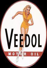 Art Poster  Veedol Motor Oil   Print