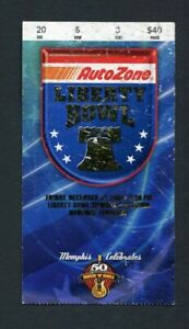 2004 Liberty Bowl Game Ticket Stub Boise State Broncos Louisville Cardinals