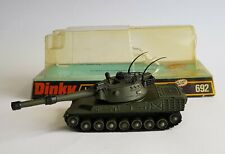 Very Rare Dinky Toys No. 692, Leopard Tank - Superb Near Mint Condition Good Box