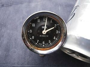 SMITHS CE2160/10 Classic Car Clock Triumph, Jenson, Morris Austin Mini Untested