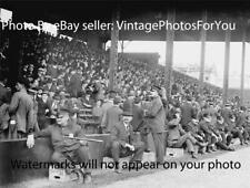 Antique 1914 World Series Photo Philadelphia Police/cops Athletics Boston Braves