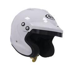Arai GP-J3 White XXL w/ HANS anchors SA2010 Car Racing Helmet