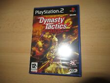DYNASTY TACTICS 2 - PLAYSTATION 2 PS2 - NUEVO PRECINTADO VERSIÓN PAL