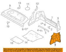 Chevrolet GM OEM 07-11 Aveo Interior-Rear-Side Trim Right 96415054