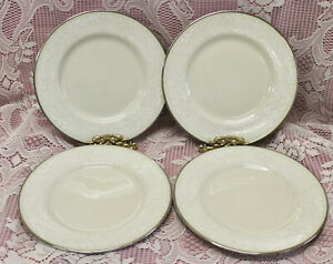 Gorham Bridal Bouquet SET OF 4 SALAD PLATES Excellent Condition!!